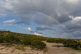 A rainbow in Akamas Peninsula, Cyprus.jpg