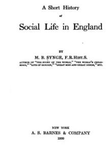 A short history of social life in England.djvu
