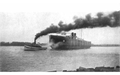 A tugboat and Lake Freighter, from Curwood's 1909 The Great Lakes -ba.png