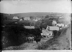 A view of Sarn Mellteyrn from Pencraiglas NLW3363499.jpg