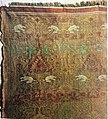 Aachen Cathedral Treasury, cloth with rabbits from Karlsschrein.jpg