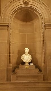 <i>Abraham Lincoln</i> (bust by Jones) Thomas Dow Jones statue