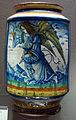 Abruzzo, albarello con angelo dell'annunciazione, 1500-1520 ca..JPG