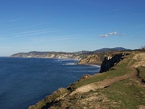 Bay of Biscay - Spanish coast along the Bay of Biscay