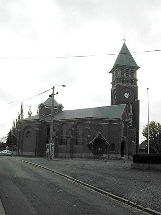 Achiet-le-Grand - The church of Achiet-le-Grand