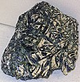 Actinolite in talc (Hanging Rock, North Carolina, USA) 3 (31688585890).jpg