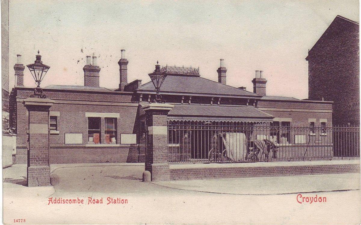 Addiscombe Railway Station Wikipedia