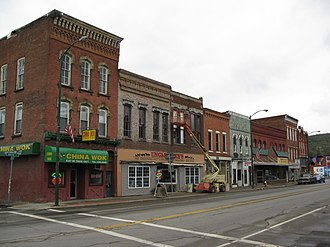 Addison (village), New York - Downtown Addison