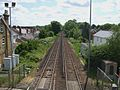 Addlestone station high eastbound.JPG