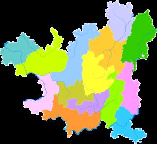 Daozhen Gelao and Miao Autonomous County Autonomous county in Guizhou, Peoples Republic of China