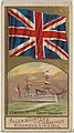 Admiral of the Fleet, Great Britain, from the Naval Flags series (N17) for Allen & Ginter Cigarettes Brands MET DP834918.jpg