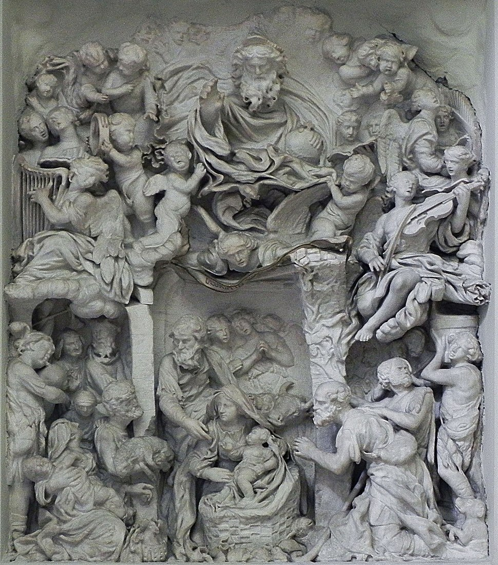 Adorazione dei pastori - Francesco Grassia