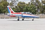 Aero L-39C Albatros (VH-WFY) taxiing at Wagga Wagga Airport.jpg