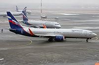 VP-BZB - B738 - Aeroflot