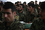 Afghan National Army (ANA) soldiers assigned to the 201st Corps attend a medic class during an ANA-led training course at Forward Operating Base Gamberi in Laghman province, Afghanistan, June 17, 2013 130617-A-XM609-041.jpg