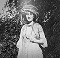Agatha Christie in a play at Cocokington Court.jpg