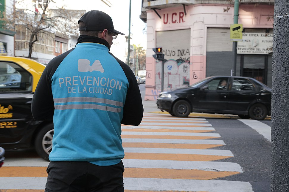 Agente prevencion ciudad
