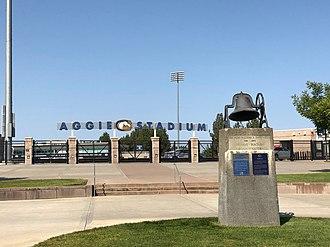 Aggie Stadium (UC Davis) - Image: Aggie Stadium (UC, Davis)