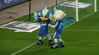 Suwon Samsung Bluewings - Suwon's mascot, Aguileon