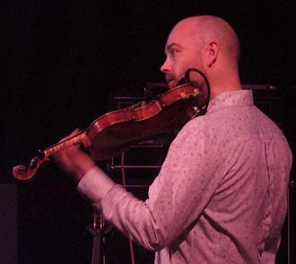 Aidan O'Rourke (musician) - O'Rourke in 2010