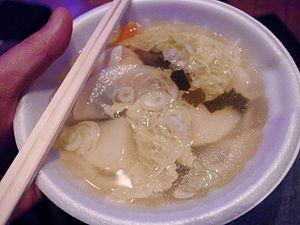 Ainu cuisine - Ohaw, traditional Ainu soup