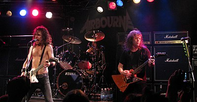 Picture of a band or musician: Airbourne