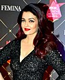 Aishwarya Rai graces the 4th edition of the Nykaa Femina Beauty Awards 2018 (01) (cropped).jpg