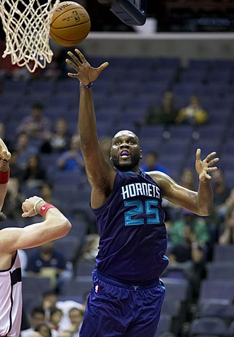 Al Jefferson - Jefferson with the Hornets in 2014