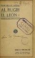 Al rugir el león - comedia en tres actos y en prosa (IA alrugirelleoncom3583mill).pdf