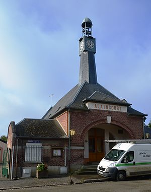 Alaincourt, Aisne - The Town Hall