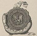 Alaksandar, Pahonia. Аляксандар, Пагоня (K. Kielisiński, 1501, 1841).jpg
