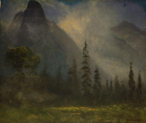 Albert Bierstadt -Yosemite Valley