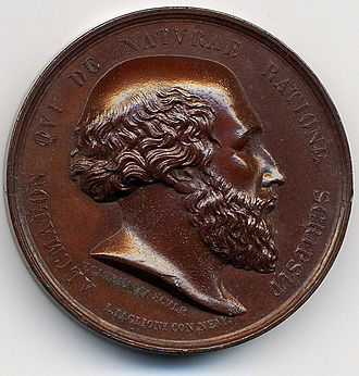 Alcmaeon of Croton - Bronze medal devoted to Alcmaeon of Croton