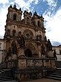 Alcobaça, Mosteiro de Alcobaça, Igreja abacial, fachada (1).jpg