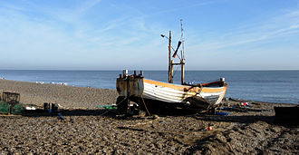 Suffolk Coastal - Coastline at Aldeburgh.