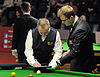 Alex Crisan and John Higgins at Snooker German Masters (Martin Rulsch) 2014-01-29 03.jpg