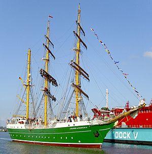 Alexander von Humboldt II - Tall Ship Alexander von Humboldt II
