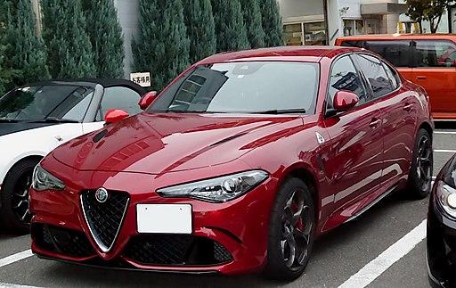 Alfa Romeo GIULIA Quadrifoglio (ABA-95229) front
