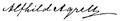 Alfhild Agrells signatur.png