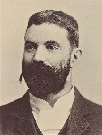 Alfred Deakin - Alfred Deakin in 1898