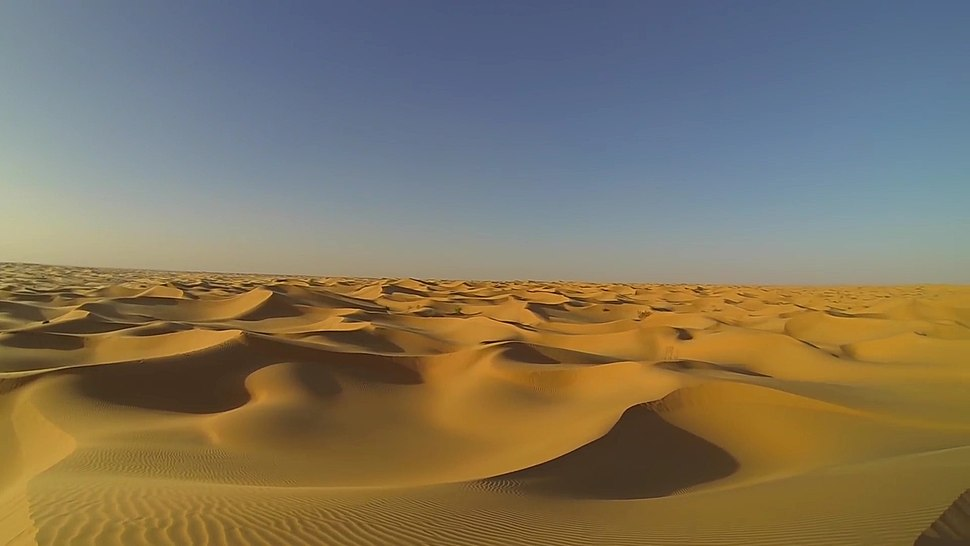 Algeria Sahara Desert Photo From Drone 5