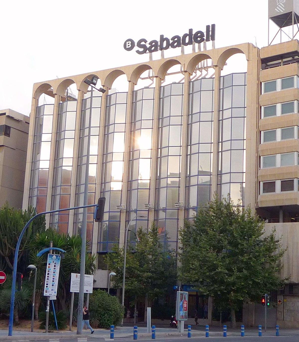 Banco sabadell wikipedia la enciclopedia libre for Oficinas bancsabadell