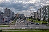 Aliesia Bačyly street (Minsk, Belarus) p04.jpg