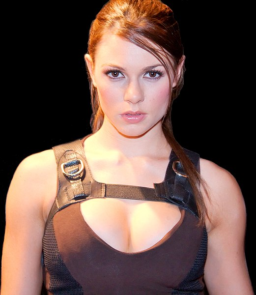 well the girl who models lara croft is still Alison Carroll to my knowledge