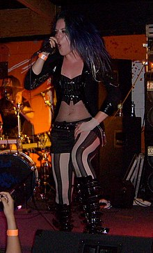 Alissa White-Gluz with The Agonist.jpg