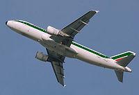 I-BIKC - A320 - Alitalia