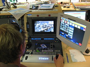 Production control room - Image: Aljazeera London 02