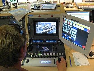 Production control room - Image: Aljazeera London 02