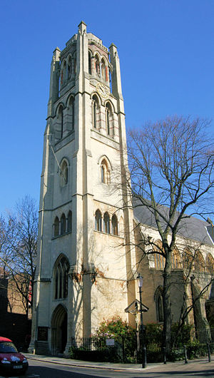 All Saints Notting Hill - The west tower in 2011