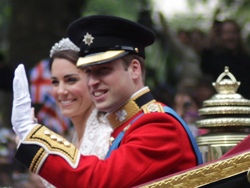 798px All smiles Wedding of Prince William of Wales and Kate Middleton
